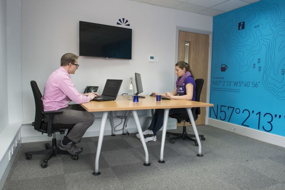 Anyone can come use our Hot Desking space - Hire for as little as 1/2 a day at a time